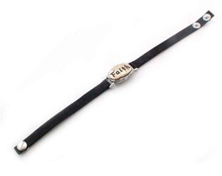 Leather Snap Bracelet