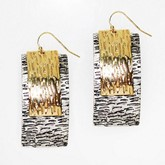 Gold & Silver Earrings